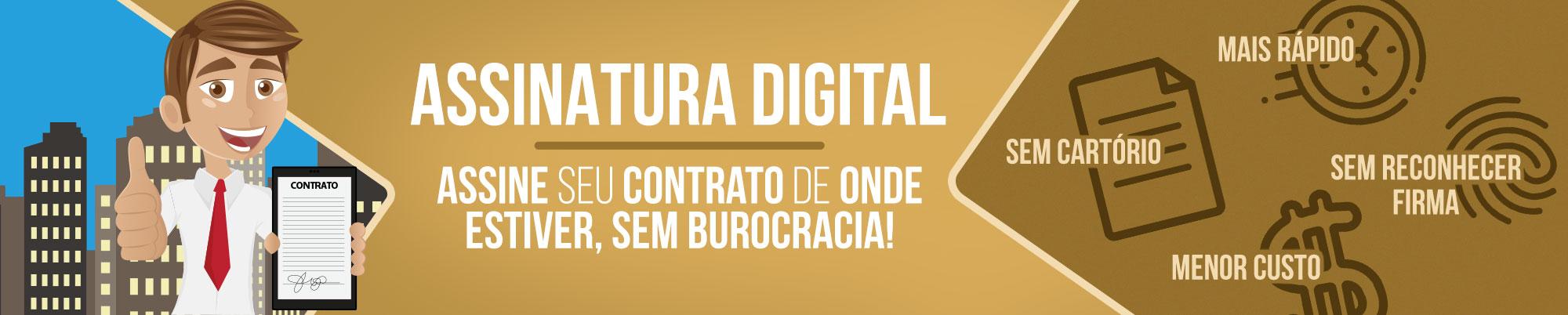 Assinatura Digital Para Locação de Imóveis